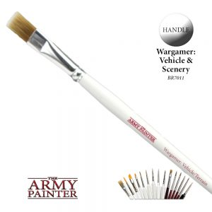 The Army Painter   Army Painter Brushes Wargamer Brush: Vehicle / Terrain - APBR7011 - 4019769336004