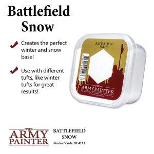The Army Painter   Snow Battlefields: Snow - APBF4112 - 5713799411203