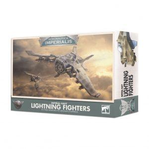 Games Workshop Aeronautica Imperialis  Aeronautica Imperialis Aeronautica Imperialis: Imperial Navy Lightning Fighters - 99121808004 - 5011921132133