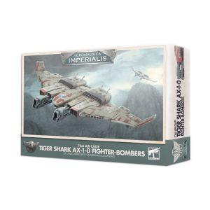 Games Workshop Aeronautica Imperialis  Aeronautica Imperialis Aeronautica Imperialis: T'au Tiger Shark AX 1-0 Fighter-Bombers - 99121813003 - 5011921133222