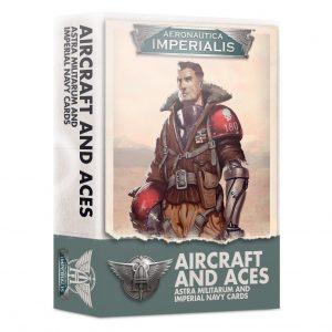 Games Workshop Aeronautica Imperialis  Aeronautica Imperialis Aeronautica Imperialis: Aircraft & Aces Astra Militarum Imperial Navy Cards - 60051808001 - 5011921131624