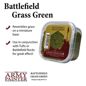 The Army Painter   Sand & Flock Battlefields: Grass Green - APBF4113 - 5713799411302