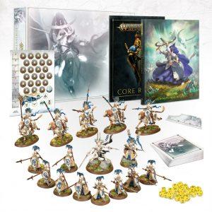 Games Workshop Age of Sigmar  Lumineth Realm-lords Lumineth Realm-lords Army Box - 60010210001 - 5011921136612