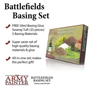 The Army Painter   Basing Kits Battlefields Basing Set (2019) - APBF4301 - 5713799430105