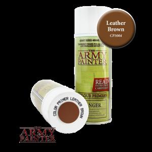 The Army Painter   Spray Paint AP Spray: Leather Brown - APCP3004 - 2540101130049
