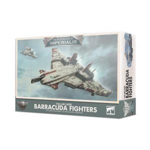 Games Workshop Aeronautica Imperialis  Aeronautica Imperialis Aeronautica Imperialis: T'au Air Caste Barracuda Fighters - 99121813001 - 5011921132140