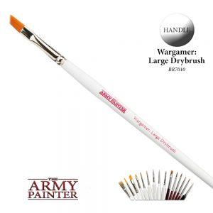 The Army Painter   Army Painter Brushes Wargamer Brush: Large Drybrush - APBR7010 - 5713799701007