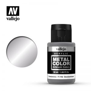 Vallejo   Metal Colour Metal Color - Duraluminum 32ml - VAL77702 - 8429551777025