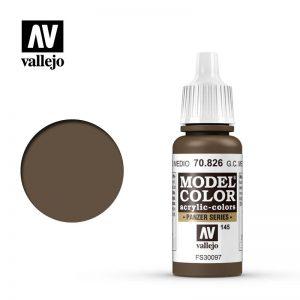 Vallejo   Model Colour Model Color: German Cam Medium Brown - VAL70826 - 8429551708265