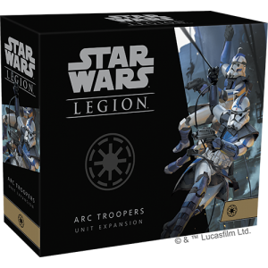 Fantasy Flight Games Star Wars: Legion  The Galactic Republic - Legion Star Wars Legion: ARC Troopers Unit - FFGSWL70 - 841333111540