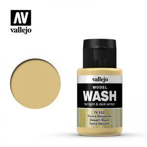 Vallejo   Vallejo Washes Desert Dust Wash - VAL76522 - 8429551765220