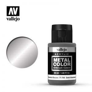 Vallejo   Metal Colour Metal Color - Dark Aluminium 32ml - VAL77703 - 8429551777032