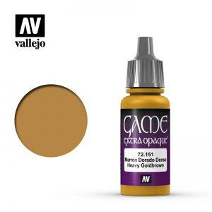 Vallejo   Extra Opaque Extra Opaque: Heavy Goldbrown - VAL72151 - 8429551721516
