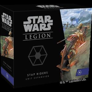 Fantasy Flight Games Star Wars: Legion  Separatist Alliance - Legion Star Wars Legion: STAP Riders Unit - FFGSWL73 - 841333111571
