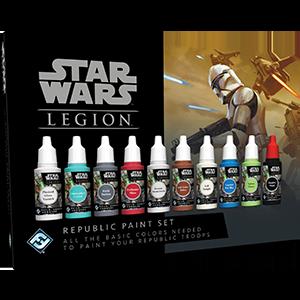 Fantasy Flight Games   Paint Sets Star Wars Legion: Republic Paint Set - FFGSWS55 -