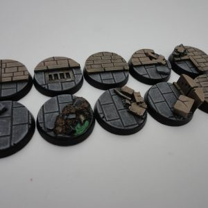 Baker Bases   Cityfight Cityfight: 25mm Round Bases (10) - CB-CF-01-25M - CB-CF-01-25M
