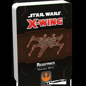 Fantasy Flight Games Star Wars: X-Wing  The Resistance - X-wing Star Wars X-Wing: Resistance Damage Deck - FFGSWZ75 - 841333110918