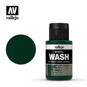 Vallejo   Vallejo Washes Olive Green Wash - VAL76519 - 8429551765190