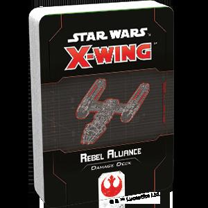 Fantasy Flight Games Star Wars: X-Wing  The Rebel Alliance - X-wing Star Wars X-Wing: Rebel Alliance Damage Deck - FFGSWZ72 - 841333110888