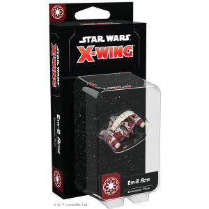 Fantasy Flight Games Star Wars: X-Wing  The Galactic Republic - X-wing Star Wars X-Wing: Eta-2 Actis Expansion Pack - FFGSWZ79 - 841333111908