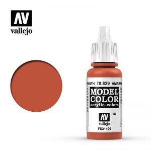 Vallejo   Model Colour Model Color: Amarantha Red - VAL70829 - 18429551708293