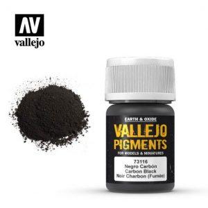 Vallejo   Pigments Vallejo Pigment - Carbon Smoke - VAL73116 - 8429551731164