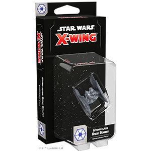 Fantasy Flight Games Star Wars: X-Wing  Separatist Alliance - X-wing Star Wars X-Wing: Hyena-class Droid Bomber - FFGSWZ41 - 841333108083