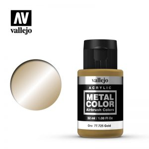 Vallejo   Metal Colour Metal Color - Gold 32ml - VAL77725 - 8429551777254