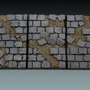Baker Bases   Ruined Flagstones Flagstones: 50x75mm Monstrous Cavalry - CB-RF-02-DMI - CB-RF-02-DMI