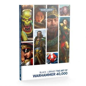 Games Workshop Warhammer 40,000  Warhammer 40000 Books Black Library: The Art of Warhammer 40,000 - 60040181749 - 9781789992229