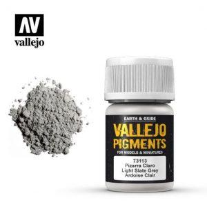 Vallejo   Pigments Vallejo Pigment - Light Slate Grey - VAL73113 - 8429551731133