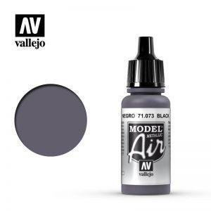 Vallejo   Model Air Model Air: Black Metallic - VAL073 - 8429551710732
