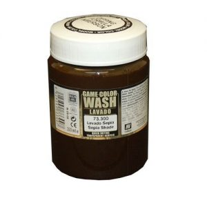 Vallejo   Vallejo Washes Dipping Formula: Sepia Wash 200ml - VAL73300 - 8429551733007