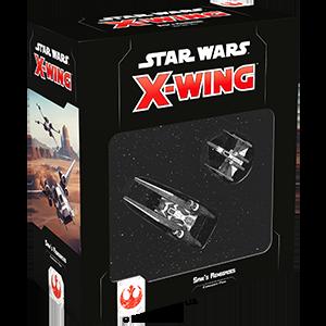 Fantasy Flight Games Star Wars: X-Wing  The Rebel Alliance - X-wing Star Wars X-Wing: Saw's Renegades - FFGSWZ02 - 841333105594