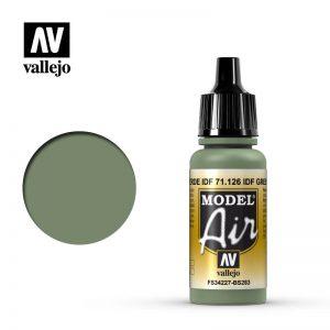 Vallejo   Model Air Model Air: IDF Green - VAL126 - 8429551711265
