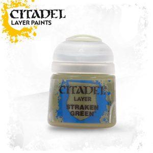 Games Workshop   Citadel Layer Layer: Straken Green - 99189951028 - 5011921027446