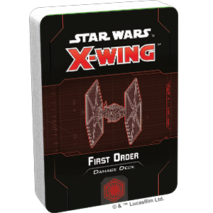 Fantasy Flight Games Star Wars: X-Wing  First Order - X-wing Star Wars X-Wing: First Order Damage Deck - FFGSWZ76 - 841333110925