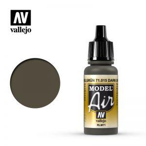 Vallejo   Model Air Model Air: Dark Green RLM71 - VAL015 - 8429551710152