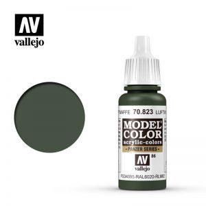 Vallejo   Model Colour Model Color: Luftwaffe Cam Green - VAL70823 - 8429551708234