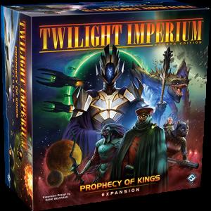 Fantasy Flight Games Twilight Imperium  Twilight Imperium Twilight Imperium Prophecy of Kings - FFGTI10 - 841333112172