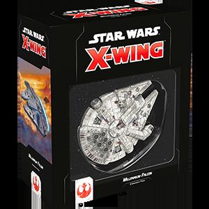 Fantasy Flight Games Star Wars: X-Wing  The Rebel Alliance - X-wing Star Wars X-Wing: Millennium Falcon - FFGSWZ39 - 841333107352