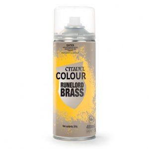 Games Workshop   Spray Paint GW Spray: Runelord Brass - 99209999061 - 5011921143535