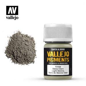 Vallejo   Pigments Vallejo Pigment - Light Sienna - VAL73104 - 8429551731041