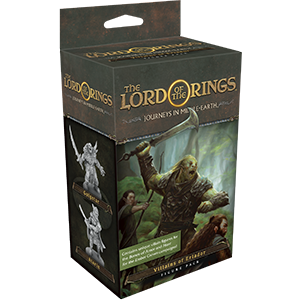 Fantasy Flight Games Journeys in Middle-earth  Lord of The Rings: Journeys in Middle-Earth Journeys in Middle-earth: Villains of Eriador Figure Pack - FFGJME04 - 841333109097