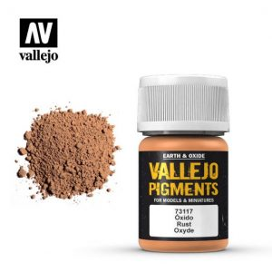 Vallejo   Pigments Vallejo Pigment - Rust - VAL73117 - 8429551731171