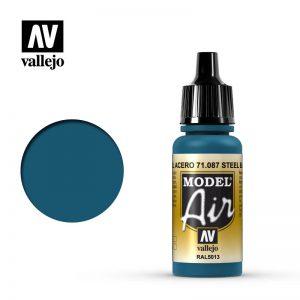 Vallejo   Model Air Model Air: Steel Blue - VAL087 - 8429551710879