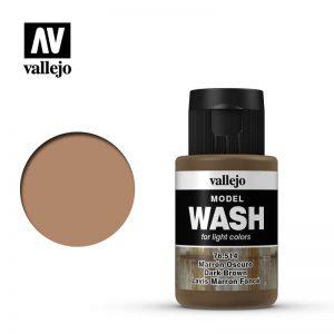 Vallejo   Vallejo Washes Dark Brown Wash - VAL76514 - 8429551765145