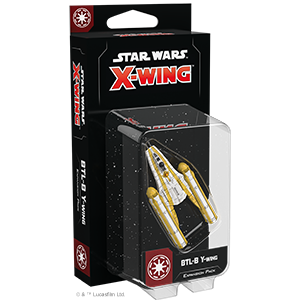 Fantasy Flight Games Star Wars: X-Wing  The Galactic Republic - X-wing Star Wars X-Wing: BTL-B Y-Wing - FFGSWZ48 - 841333106942