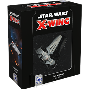 Fantasy Flight Games Star Wars: X-Wing  Separatist Alliance - X-wing Star Wars X-Wing: Sith Infiltrator - FFGSWZ30 - 841333107260