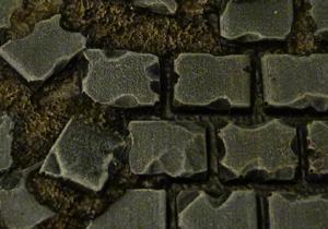 Baker Bases   Ruined Flagstones Flagstones: 32mm Round Bases (10) - CB-RF-01-32M - CB-RF-01-32M
